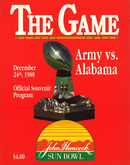 Alabama vs. Army
