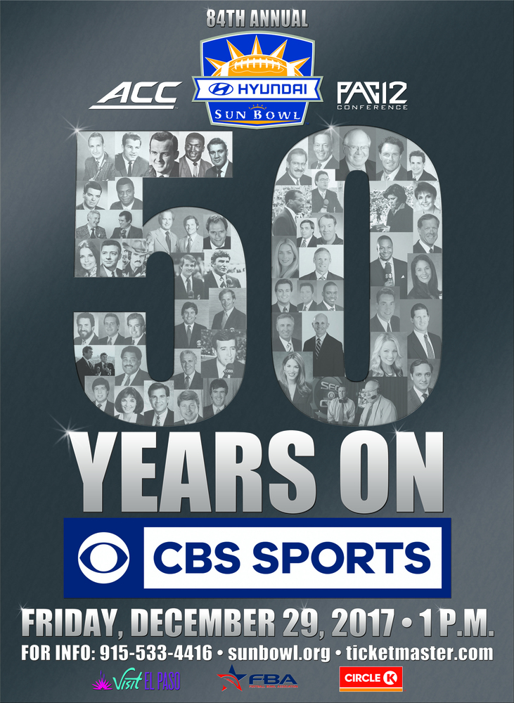 CBS and the Hyundai Sun Bowl Celebrate 50 Consecutive Years of Partnership