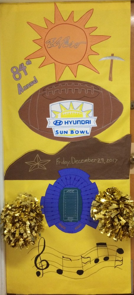 "Start Voting to send Elementary Students to the 2017 Hyundai Sun Bowl through the ""A'DOOR'N"" Contest"