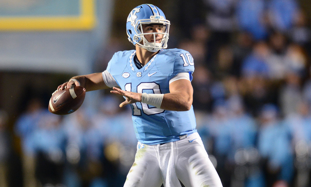 PREVIEW OF NORTH CAROLINA: SWITZER, TRUBISKY LEAD HEELS TO FIFTH SUN BOWL