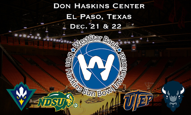 2017 WestStar Bank Don Haskins Sun Bowl Invitational Set for Thursday and Friday