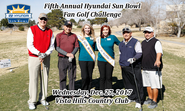 Sign Up for the Fifth Annual Fan Golf Challenge – Set for Wednesday Dec. 27
