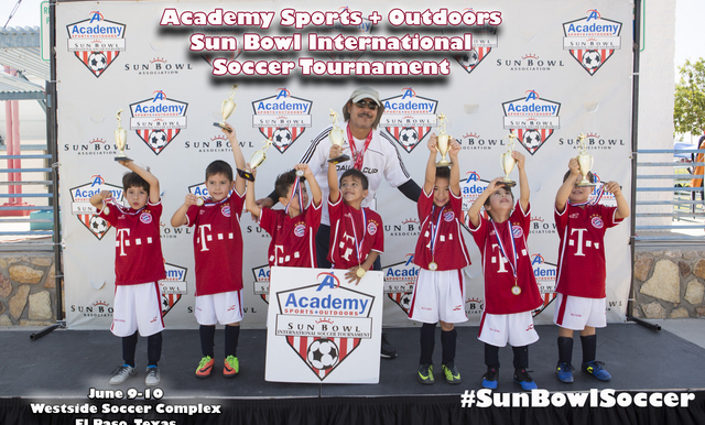 130 TEAMS PARTICPATED IN THE ACADEMY SPORTS + OUTDOORS SUN BOWL INTERNATIONAL SOCCER TOURNAMENT THIS PAST SATURDAY AND SUNDAY