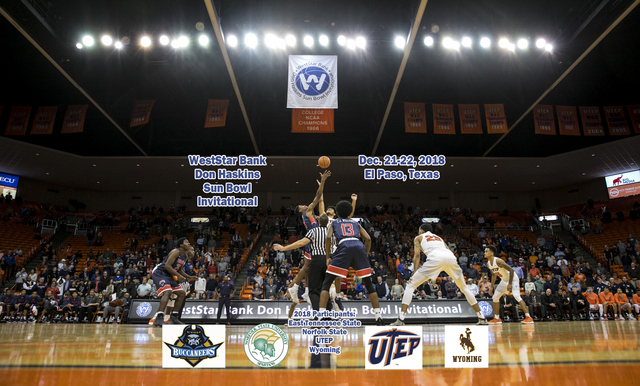 MATCH-UPS ANNOUNCED FOR 57TH ANNUAL WESTSTAR BANK DON HASKINS SUN BOWL INVITATIONAL