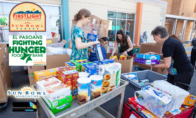 FirstLight Sun Bowl Food Drive Helping to Feed Hungry in the Borderland
