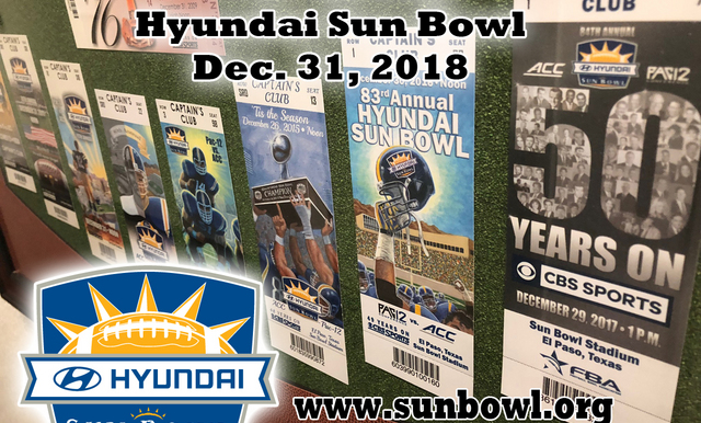 PURCHASE YOUR HYUNDAI SUN BOWL TICKETS