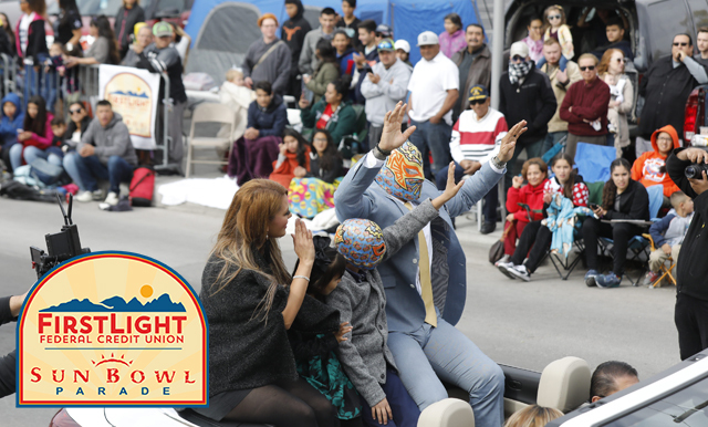 THE 82ND ANNUAL FIRSTLIGHT FEDERAL CREDIT UNION SUN BOWL PARADE DRAWS AN ESTIMATED CROWD OF 240,000