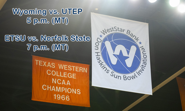 ETSU SET TO FACE NORFOLK STATE IN THE WESTSTAR BANK DON HASKINS SUN BOWL INVIATIONAL