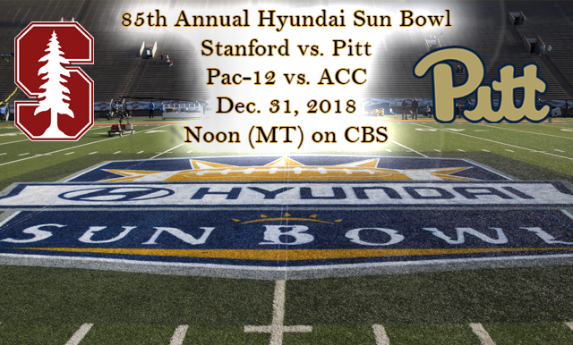 85TH ANNUAL HYUNDAI SUN BOWL GAME PREVIEW