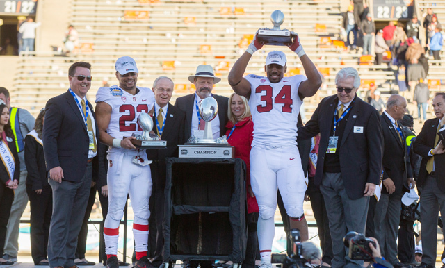 STANFORD CLAIMS FOURTH SUN BOWL VICTORY