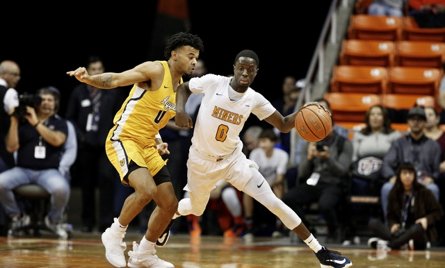MINERS WIN TO HEAD INTO CHAMPIONSHIP GAME OF  WESTSTAR BANK DON HASKINS SUN BOWL INVITATIONAL