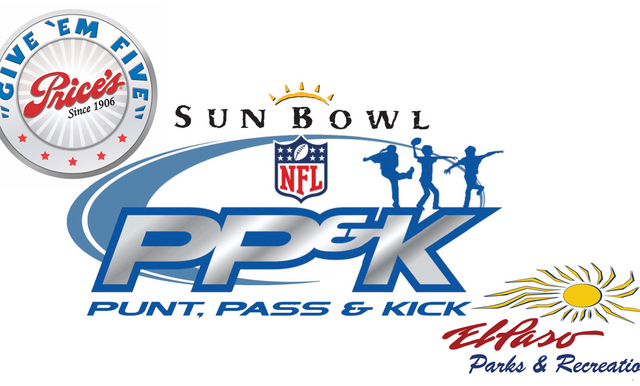 Price's Creameries Sun Bowl Punt, Pass & Kick Presented by the City of El Paso Parks and Recreation Set for October 20