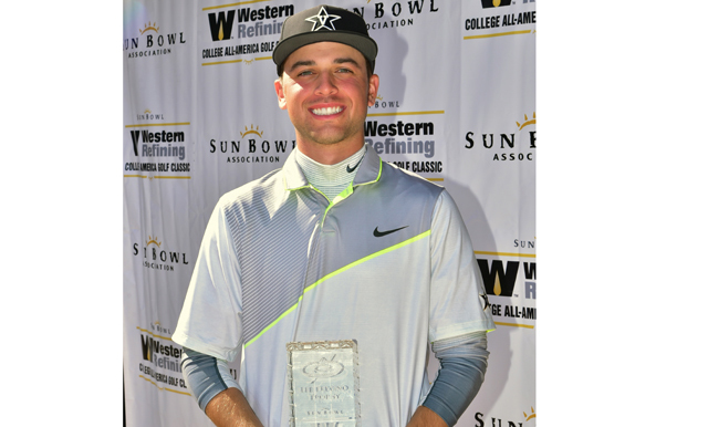 Vanderbilt's Zack Jaworski Takes Home 2015 Sun Bowl Western Refining College All-America Golf Classic Title