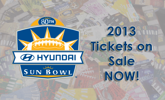 Hyundai Sun Bowl Tickets Available July 1