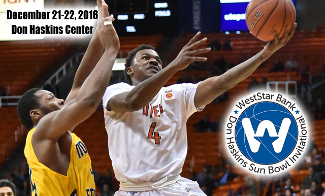 Teams Announced for the 55th Annual WestStar Bank Don Haskins Sun Bowl Invitational