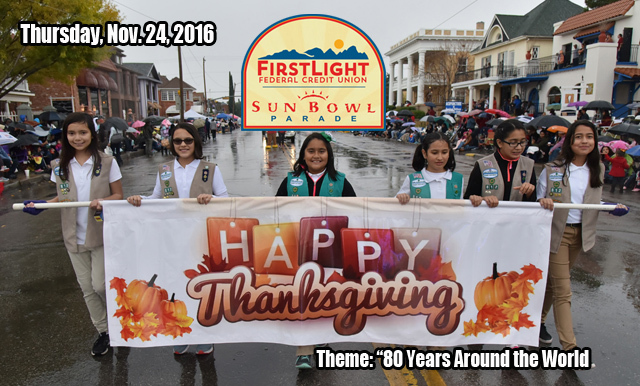 Sun Bowl Association Excited for 80th Installation of the FirstLight Federal Credit Union Sun Bowl Parade on Thanksgiving Day