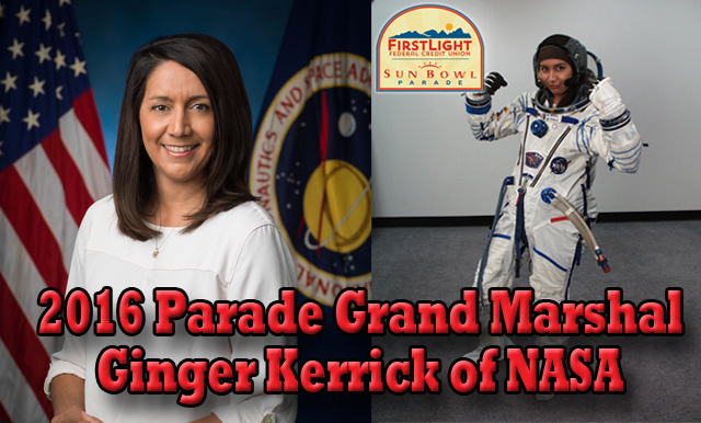 First Female Hispanic Flight Director to be the Grand Marshal for the 80th Annual FirstLight Federal Credit Union Sun Bowl Parade