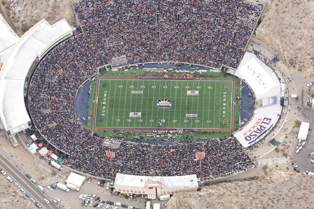 The Sun Bowl Game - History